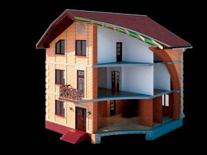 Комплектация кирпичного дома